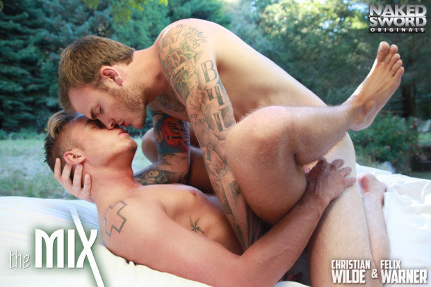 NAKED SWORD: The Mix Episode 1   A Wilde Proposal (Christian Wilde & Felix Warner)